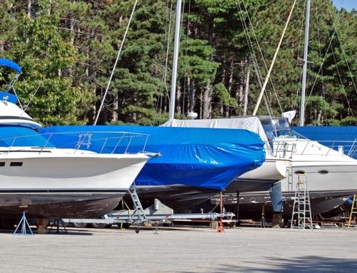 Boat Shrinkwrap