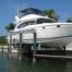 ALuminum Boatlift install