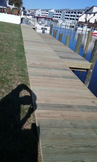 Deck building Ocean Pines
