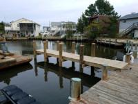 Pier built in Delaware